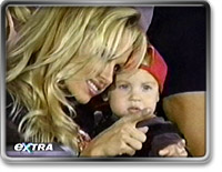PAM ANDERSON AND CHILD