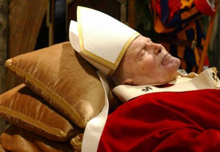 Pope in Repose